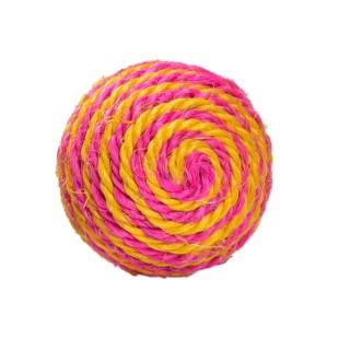 Balle Enjoy en sisal rose Ø 7 cm 535891