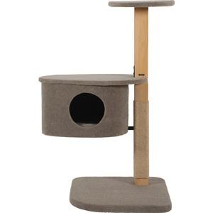 Arbre à chat Jonah 2 en bois et chanvre 70x50x100 cm 535930