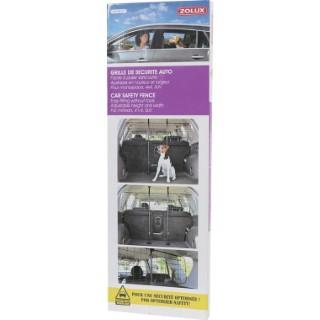 Grille auto de sécurité arrière ajustable pour 4x4 90x91x7 cm 535973