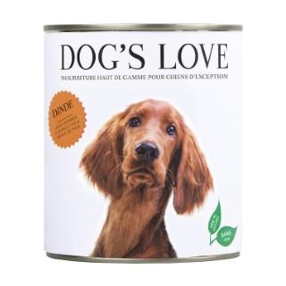 Pâtée naturelle pour chien à la dinde - boite de 800 g 535992