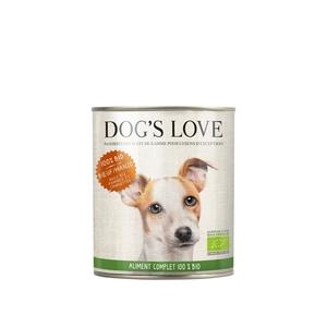 Boîte bio au bœuf pour chien, 200 g 535997