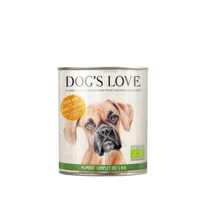 Pâtée pour chien à la dinde bio - boite de 800 g 536005