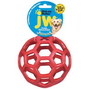 Jouet balle rouge pour chien 536066
