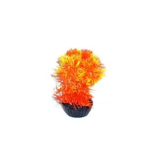 Mousse orange en plastique petit modèle 13 cm 536144