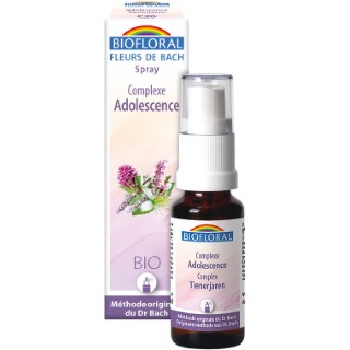 Adolescence C20 Spray complexe bio aux Fleurs de Bach 20 ml 536211