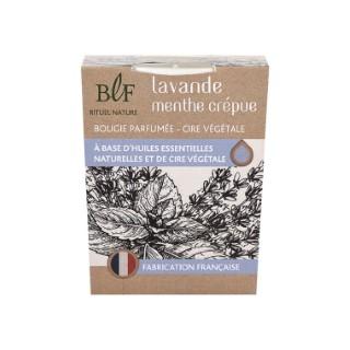 Bougie Rituel Nature lavande menthe crépue blanche, 180 g 536378