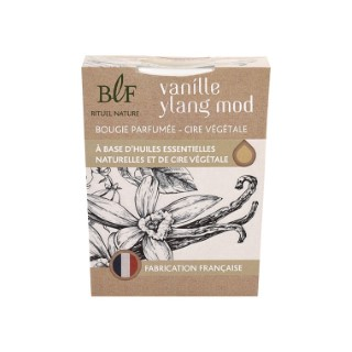 Bougie Rituel Nature fleur vanille ylang blanche, 180 g 536380