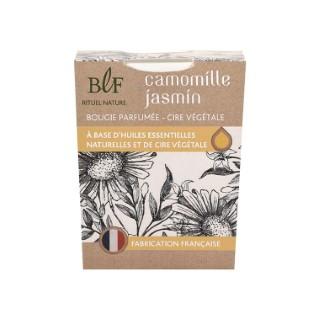 Bougie Rituel Nature fleur camomille jasmin blanche, 180 g 536381