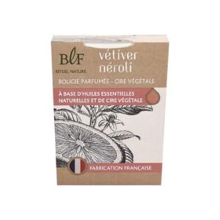 Bougie Rituel Nature néroli vétiver blanche, 180 g 536384