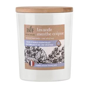 Bougie Rituel Nature lavande menthe crépue avec bouchon bois, 230 g 536386