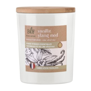 Bougie Rituel Nature vanille ylang avec bouchon bois, 230 g 536388