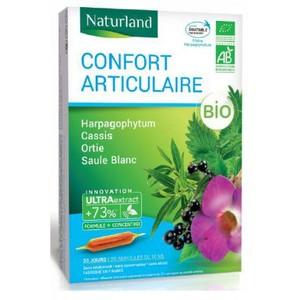 Complément alimentaire Harpagophytum Cassis Ortie Saule ampoule 20x10 ml 536395
