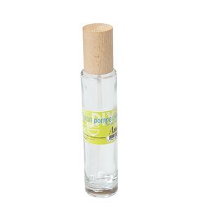 Flacon en verre avec pompe pour crème de 100 ml 536446