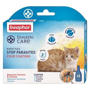 Pipettes pour chatons DiméthiCARE 6 x 0,75 ml 536451