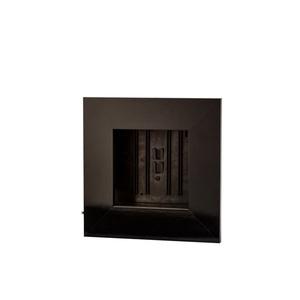 Cadre végétal vide noir taille S 31 x 31 cm 536496