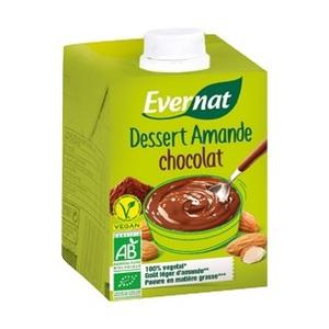 Dessert amande au chocolat UHT en brique de 525 g 537576