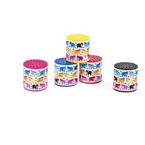 Boîte à meuh en plastique coloris assortis 548115