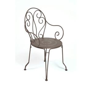 Fauteuil de jardin Montmartre Fermob rouille 55113