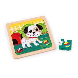 Puzzle en bois chien Titus – Jouet 1er âge 552154