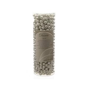 Guirlande de perles plastiques argent L 10m 55390