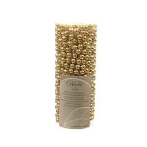 Guirlande de Perles couleur Or Clair - 8mmx10m 55392