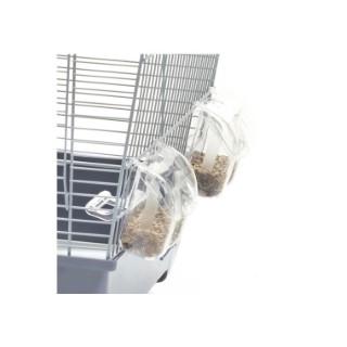 Mangeoire pour oiseau avec porte 557301