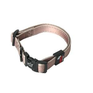 Collier chien réglable 20mm / 40-55cm chocolat 558339
