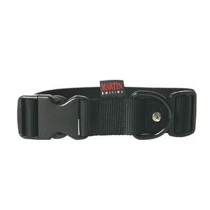 Collier chien réglable 40mm / 50-70cm noir 558470
