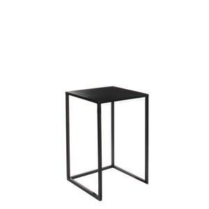 Table en métal noir Ø30xH.48,5 cm 566723
