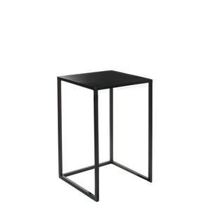 Table en métal noir Ø35xH55 cm 566724