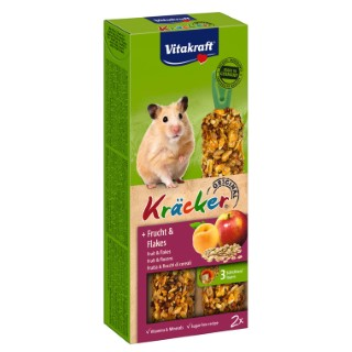 Kräcker hamsters x2 fruits Vitakraft 116g 56918