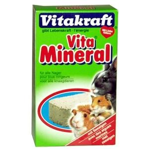 Bloc minéral pour rongeurs VitakraftŽ 168g 56956