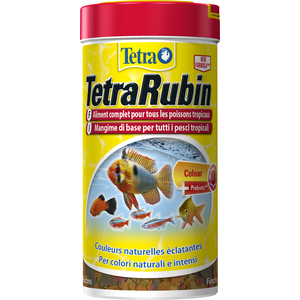 Aliment pour poissons TetraRubin. La boite de 250 ml 58133