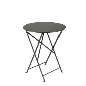Table de jardin ronde pliante Bistro FERMOB romarin 60 x h 74 cm 583427