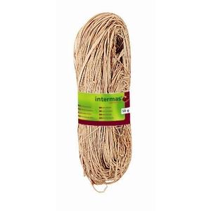 Raphia naturel coloris beige 150 g 592975