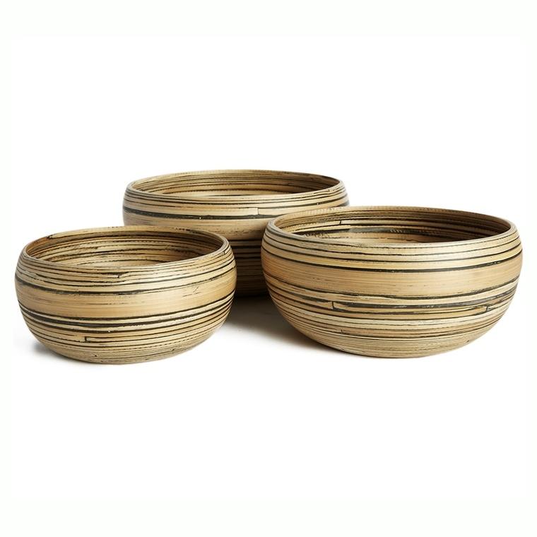 Saladier bambou Ø19xH19 cm 501147