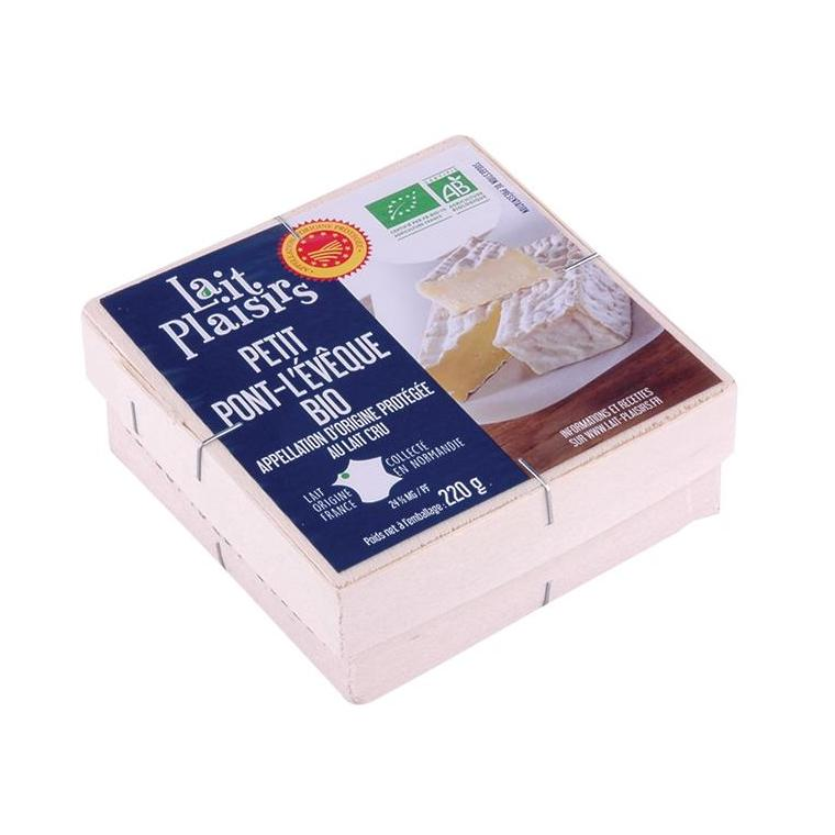 Pont l'Evêque au lait cru 220g 50147