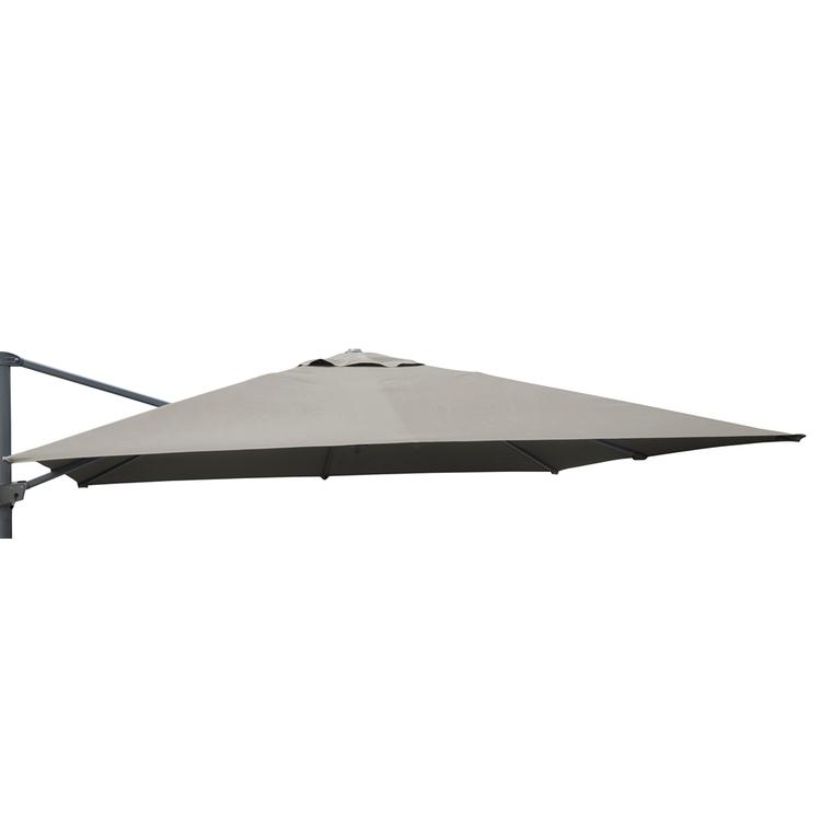 Toile taupe pour parasol déporté orientable de 300 x 300 cm 501847