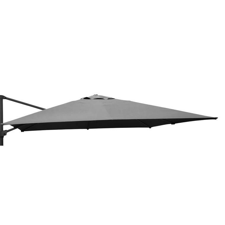 Toile grise pour parasol déporté orientable de 300 x 300 cm 501848