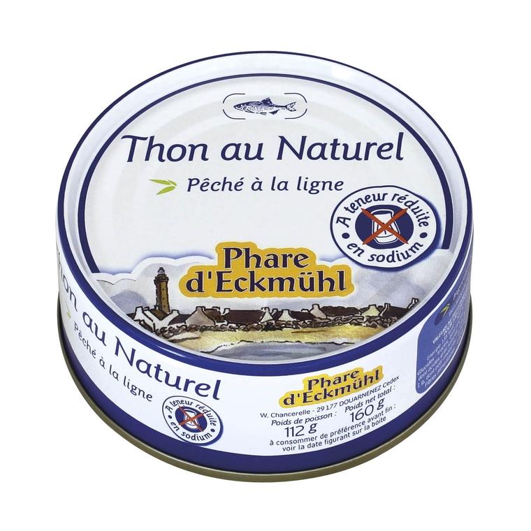 Thon blanc au naturel.132 g PHARE D'ECKMÜHL 50307