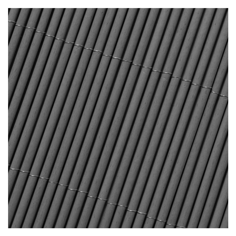 Canisse synthétique Lop gris imitation osier 300x150 cm 504196