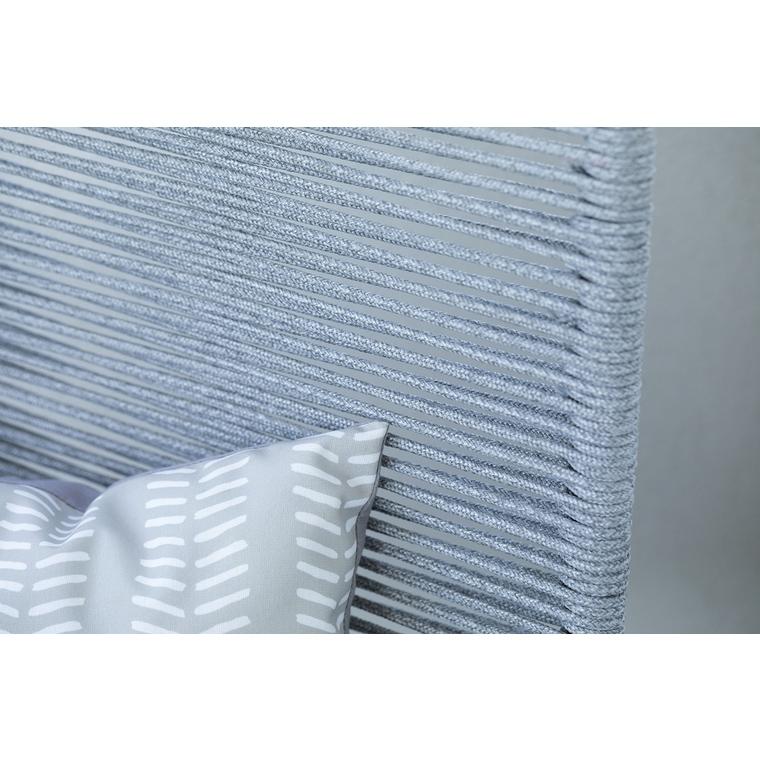 Coussin déco, polycoton, gris, L50 X l50 X H10 cm 505472