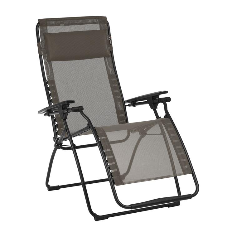 Fauteuil de relaxation Futura gris 83 x 71 x 113 cm 506423