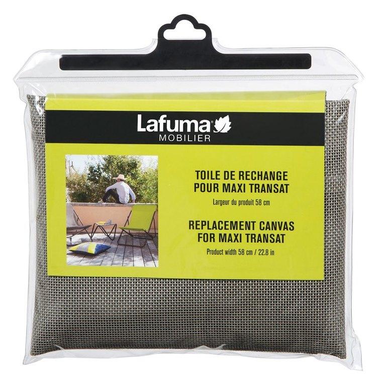 Toile Lafuma 62 cm couleur Terre pour Maxi transat Batyline 506442