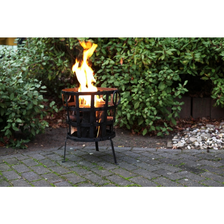 Panier à feu en métal recyclé Ø 41,5 x 54 cm 506776