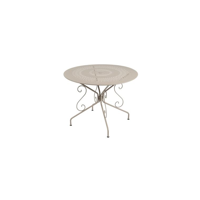 Table ronde Montmartre Muscade Ø 96 cm 507263