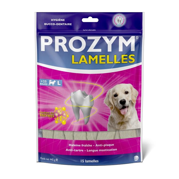 Lamelles pour chien x 15 - sachet de 47 g 507316