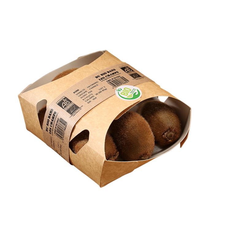 Kiwi bio d'Italie - Barquette 6 fruits 50737