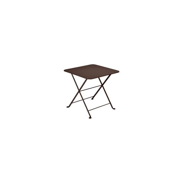 Table basse carrée Tom Pouce Rouille 50 x 50 cm 507375