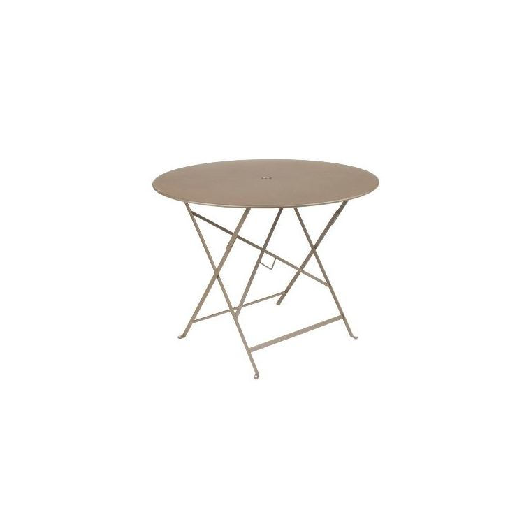 Table Pliante Bistro FERMOB muscade Ø96xh74 507549